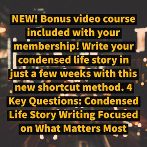 guided tale membership bonus video course