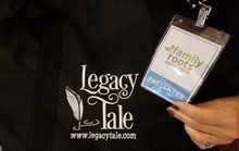 Legacy Tale taught 2 classes at Family Roots Expo