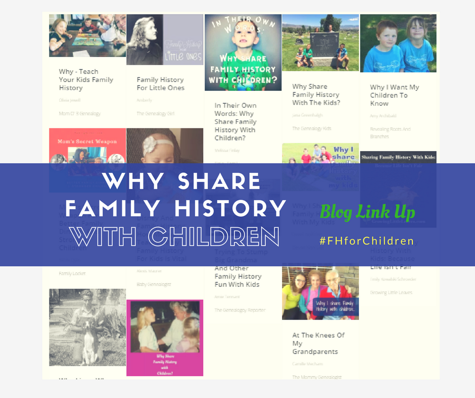 Why share family history with children